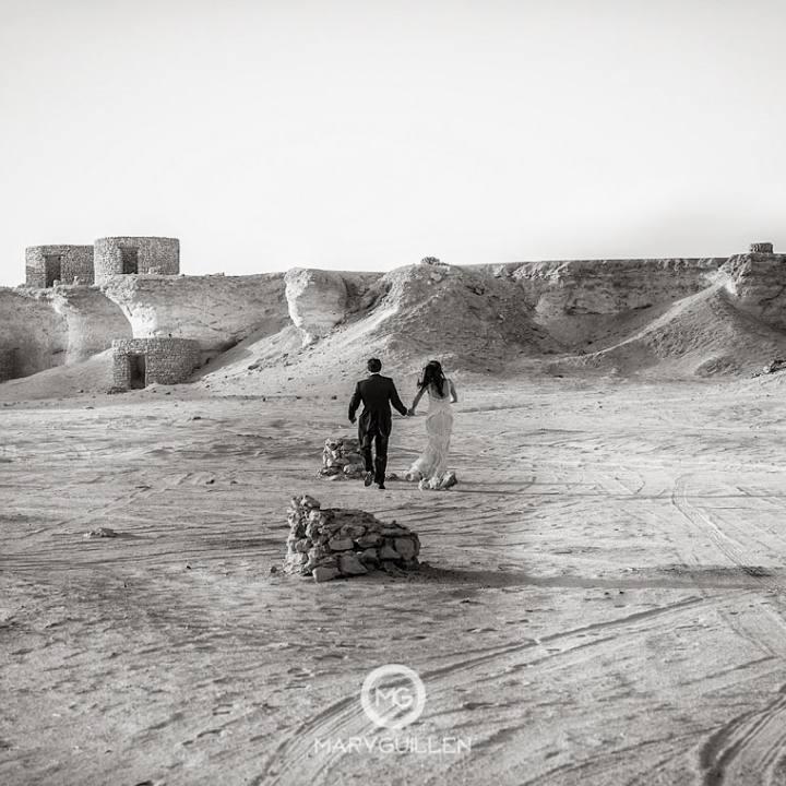 Postboda en Qatar: Rafa y Tuli