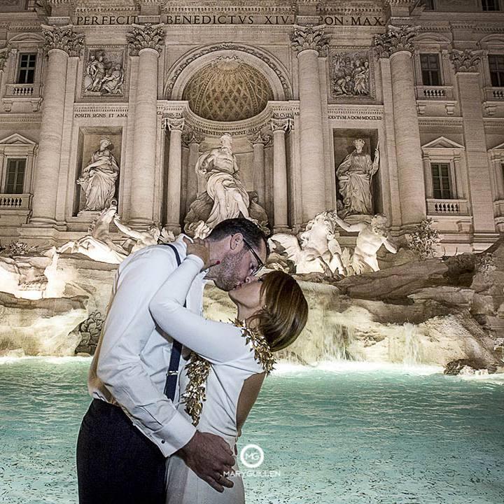 Postboda en Roma: Antonio y Ana