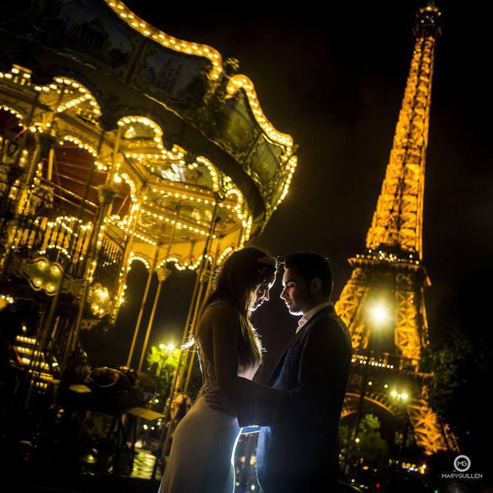 Fotos de bodas: postboda en París