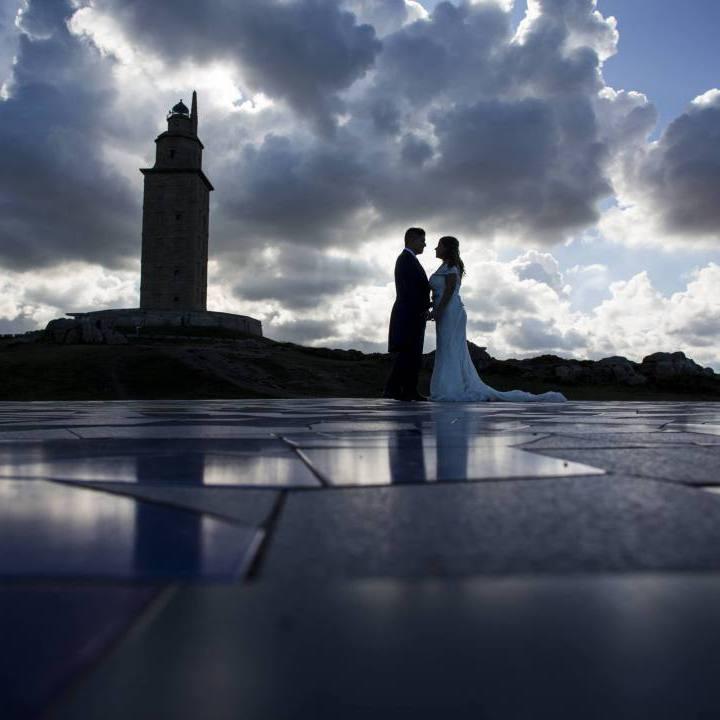 Fotos de Post Boda en La Coruña: Pablo y Tamara